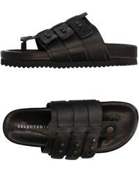 SELECTED - Toe Strap Sandal - Lyst
