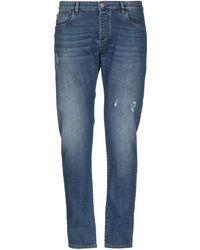 Officina 36 - Denim Trousers - Lyst