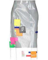 Fyodor Golan - 3/4 Length Skirt - Lyst