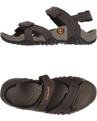 395124d366c6 Timberland Earthkeepers Original Leather Slide Sandals in Brown for ...