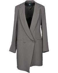 Eleventy - Overcoat - Lyst
