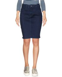 Vero Moda - Denim Skirts - Lyst