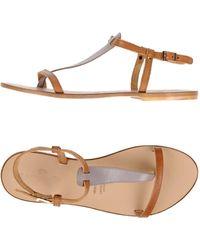Campanile - Toe Post Sandal - Lyst