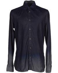 Diesel Black Gold - Denim Shirts - Lyst