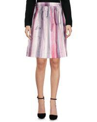 CafeNoir - Knee Length Skirts - Lyst