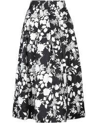 Oscar de la Renta - Long Skirt - Lyst
