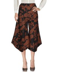 Paolo Errico - 3/4-length Trousers - Lyst