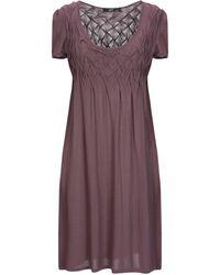 Ajay - Short Dress - Lyst