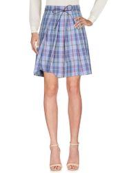 Incotex - Knee Length Skirt - Lyst