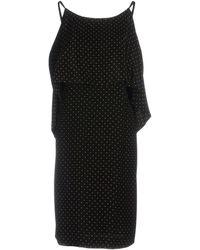 Alberto Biani - Short Dress - Lyst