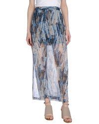 Vero Moda - Long Skirt - Lyst