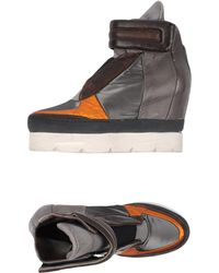 A.s.98 - Sneakers abotinadas - Lyst