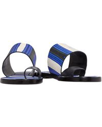 Tory Burch - Toe Strap Sandal - Lyst
