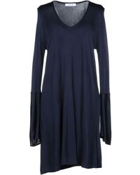 Allude - Short Dresses - Lyst