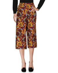 Traffic People - 3/4-length Shorts - Lyst