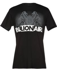 Billionaire - Logo Print T-shirt - Lyst