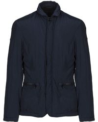 Armani Jeans - Synthetic Down Jacket - Lyst