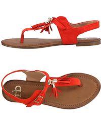 Roccobarocco - Toe Strap Sandal - Lyst