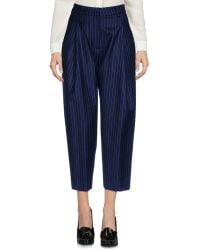 Collection Privée - 3/4-length Trousers - Lyst