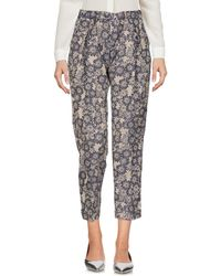 Pt0w - 3/4-length Trousers - Lyst
