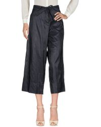 Malloni - Casual Trousers - Lyst