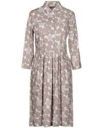 ROSSO35 - Knee-length Dresses - Lyst