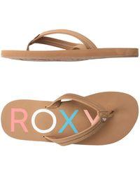 Roxy - Toe Strap Sandals - Lyst