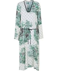 Shirtaporter | 3/4 Length Dress | Lyst