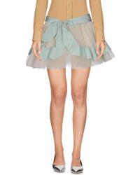 Blumarine - Mini Skirt - Lyst