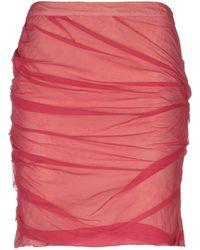 Roberta Scarpa - Knee Length Skirt - Lyst