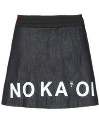NO KA 'OI - Denim Skirt - Lyst