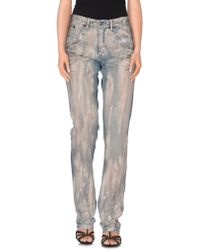 KENZO - Denim Trousers - Lyst