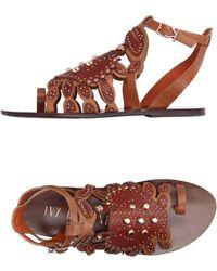 Ivy Kirzhner - Toe Strap Sandals - Lyst