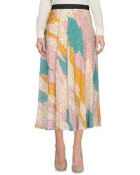 Twisty Parallel Universe - 3/4 Length Skirt - Lyst