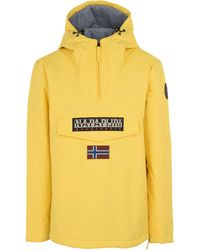 Napapijri - Rainforest Winter 1 Jacket In Yellow - Lyst