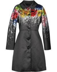 Boutique Moschino - Overcoat - Lyst