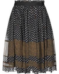 Maison Scotch - Knee Length Skirt - Lyst