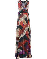 Just Cavalli - Long Dress - Lyst