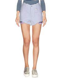 Gcds - Denim Shorts - Lyst