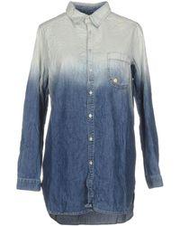 Manila Grace - Denim Shirts - Lyst