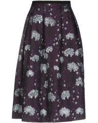 Erdem - 3/4 Length Skirt - Lyst