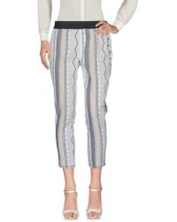 Paola Frani - 3/4-length Trousers - Lyst