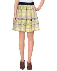 Nioi - Mini Skirt - Lyst
