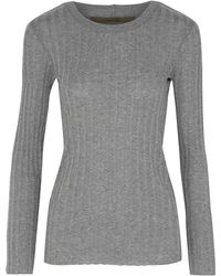 Enza Costa Jumper - Gray