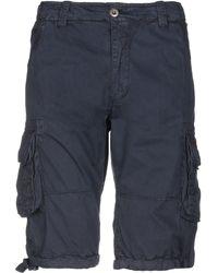 Alpha Industries - Bermuda Shorts - Lyst