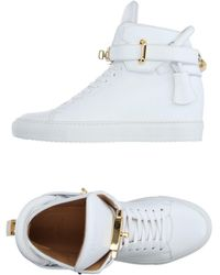 Buscemi - 100mm Leather Alta - Lyst