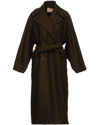 Erika Cavallini Semi Couture - Coat - Lyst