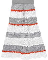 Sibling - 3/4 Length Skirt - Lyst