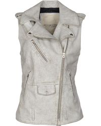 Denim & Supply Ralph Lauren | Leather Moto Vest | Lyst