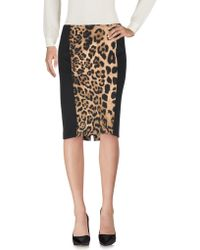 Clips - Knee Length Skirt - Lyst